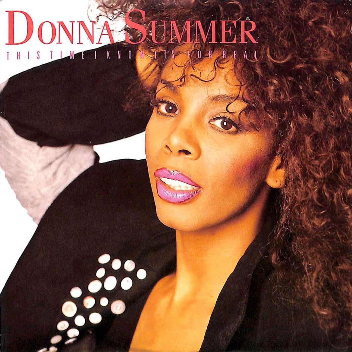 Disco Music Art Donna Summer Esta vez es saber que es real