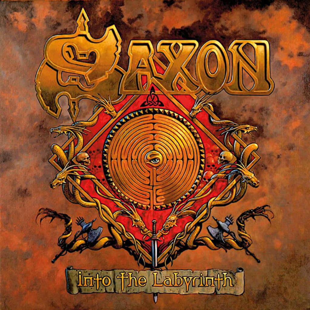 Saxon Into the Labyrinth