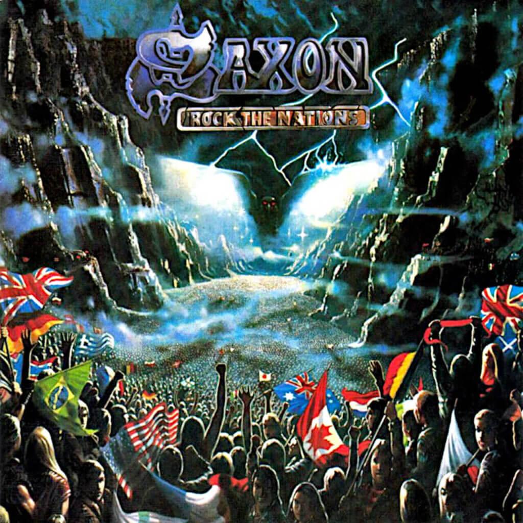 Saxon Rock The Nations