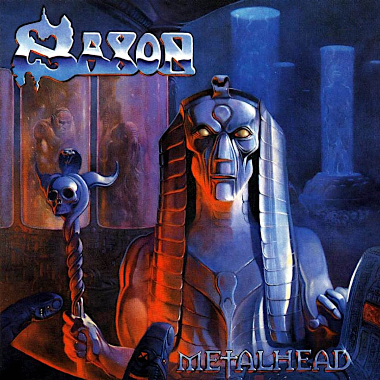 Saxon Metal Head