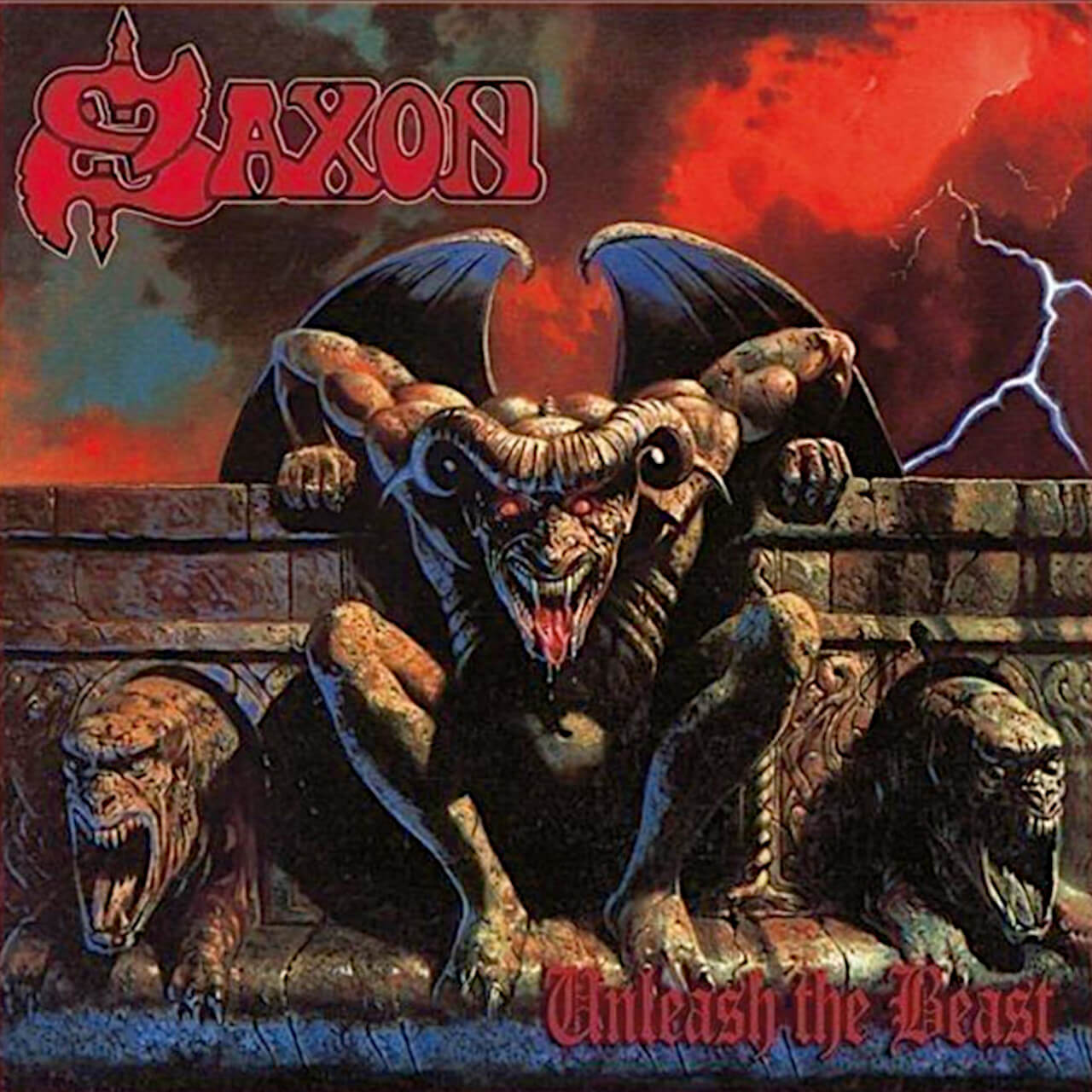 Saxon Unleash The Beast
