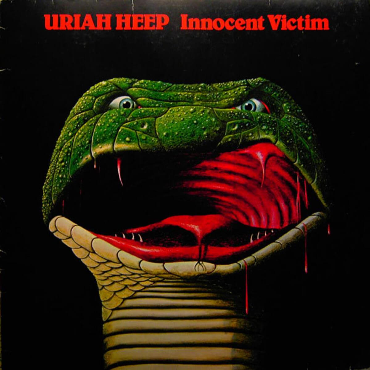 Uriah Heep - Innocent Victim - Vinil Cover