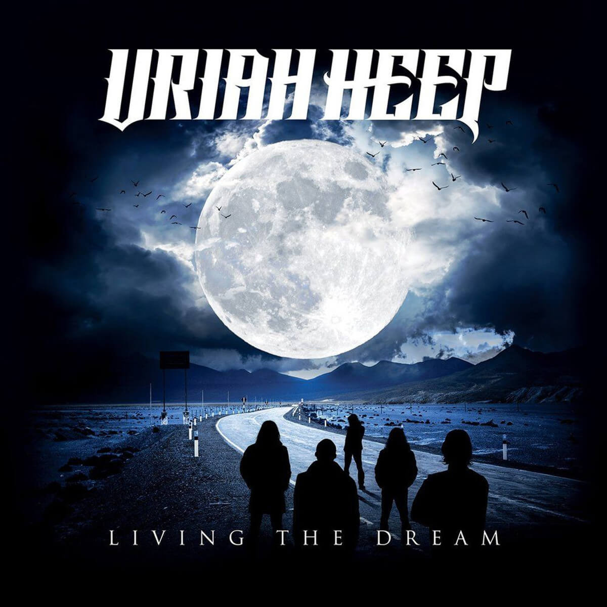 Uriah Heep - Viure el somni - Vinil Cover