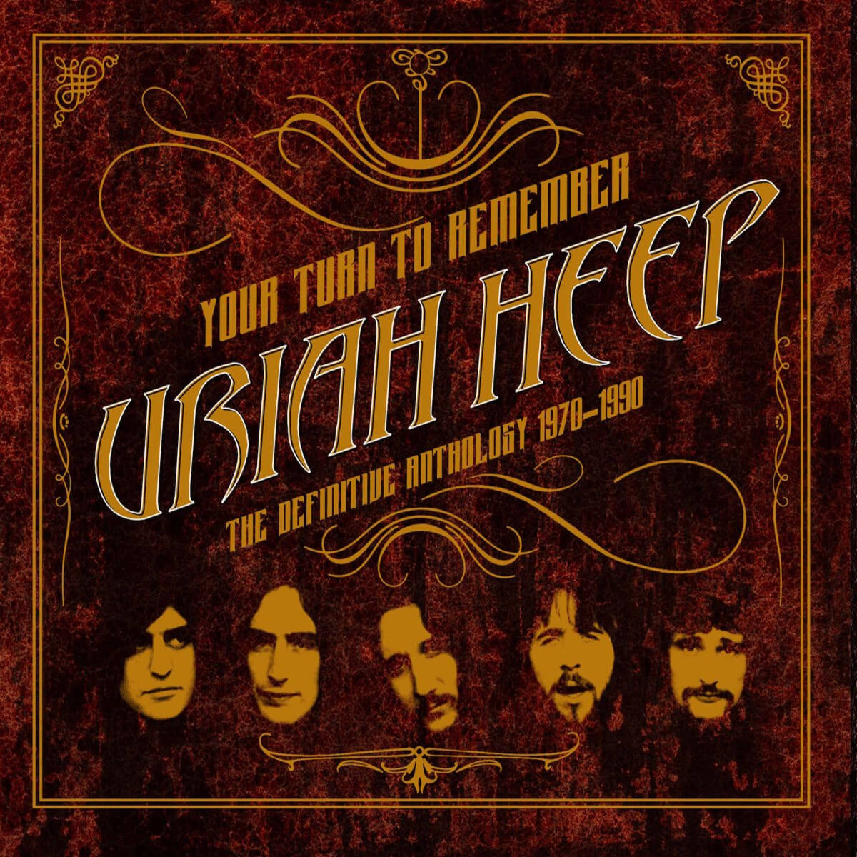 Uriah Heep - Your turn to remember - Vinil Cover