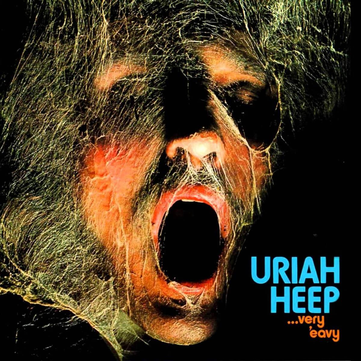 Uriah Heep - Very 'eavy - Vinil Cover