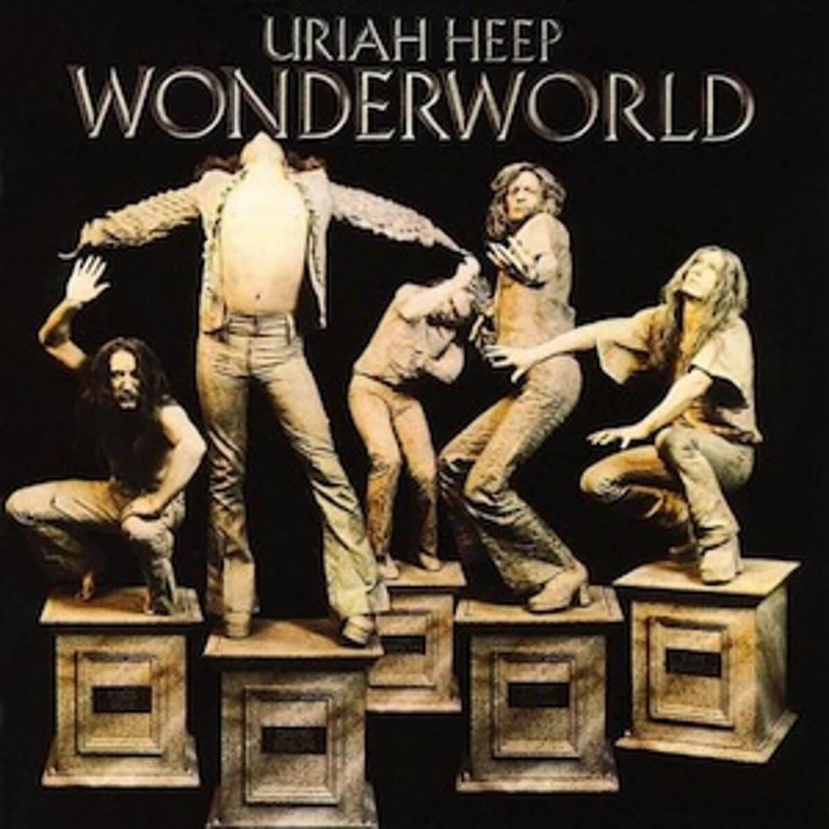 Uriah Heep - Wonderword - Cubierta de vinilo