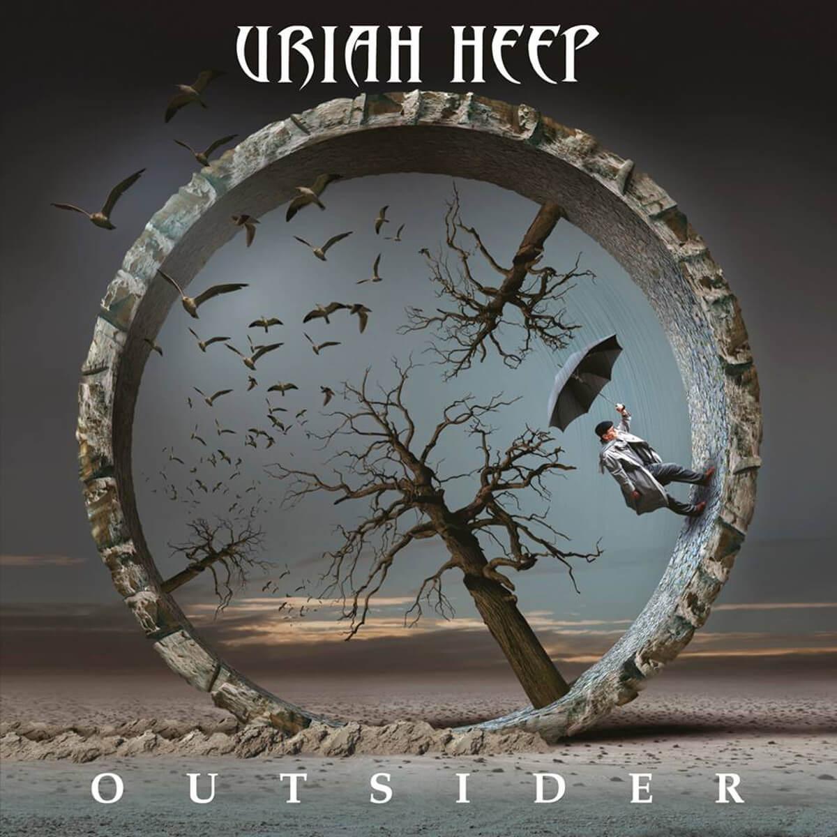 Uriah Heep - Outsider - Vinil Cover