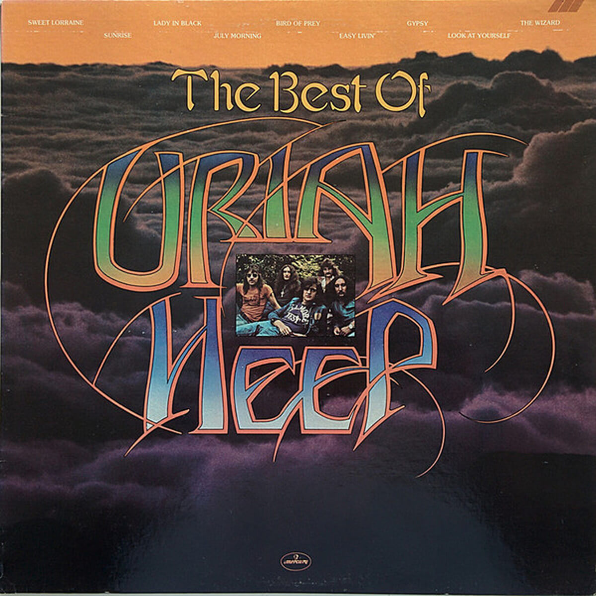 Uriah Heep - Te Best Of - Vinil Cover