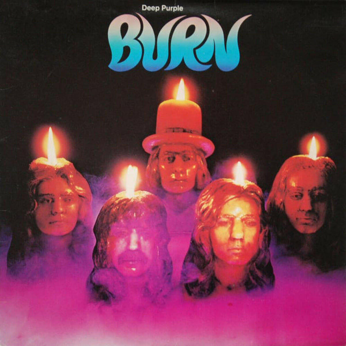 Deep Purple Burn Album Cover