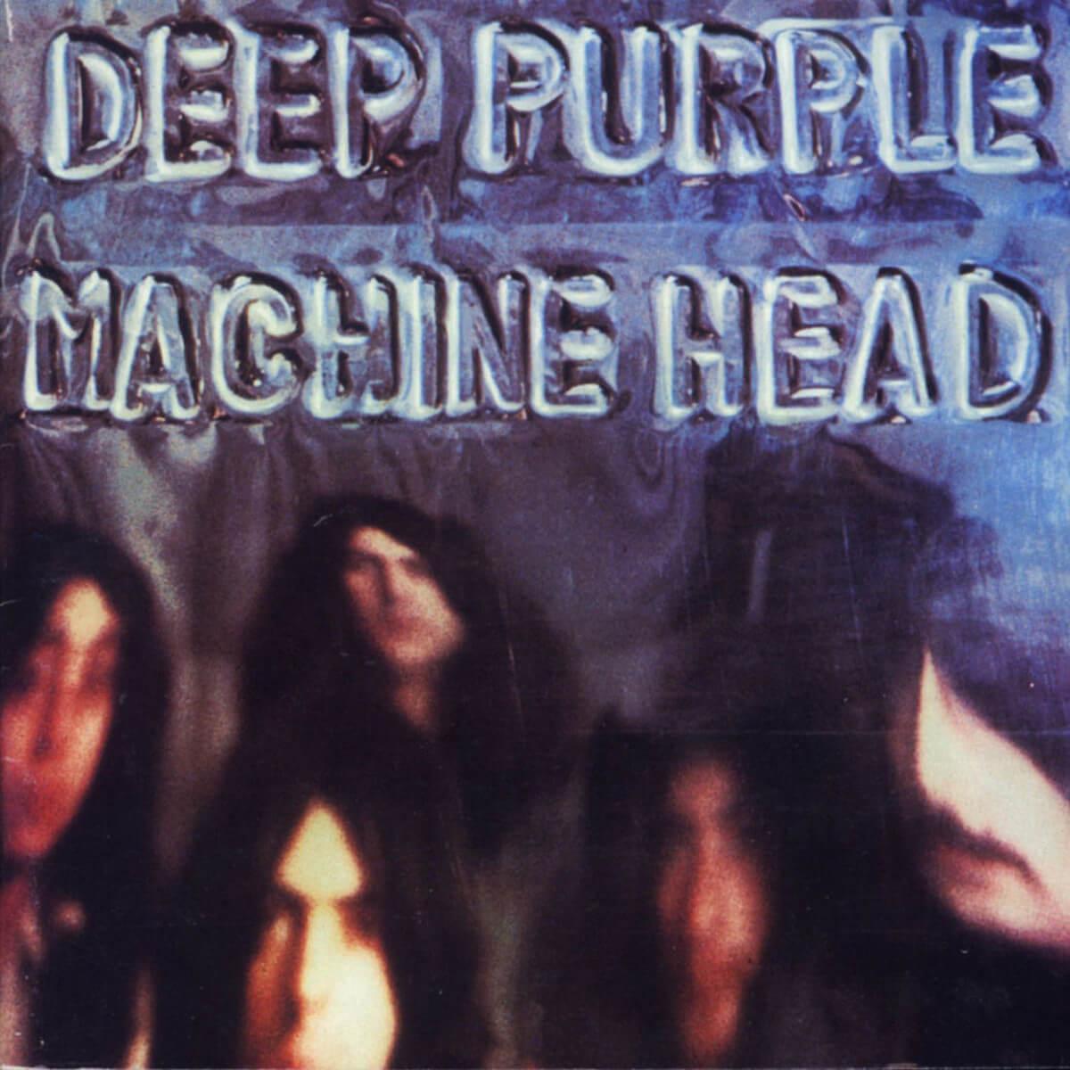 Deep Purple Machine Head Album Cover