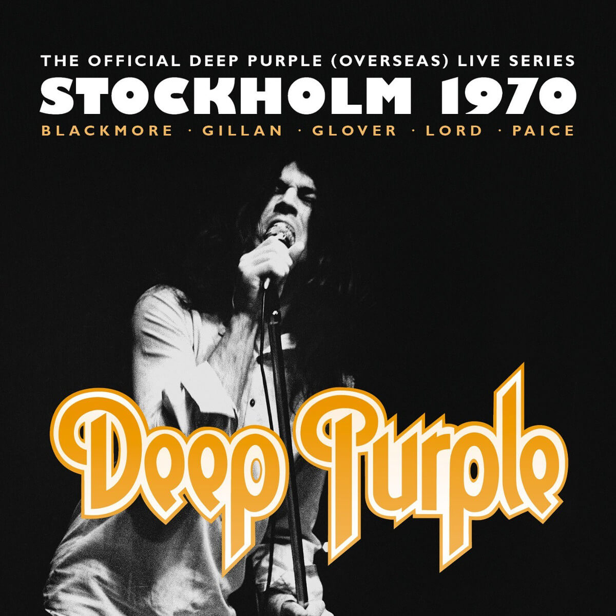 Deep Purple Stockholm 1970 Album Cover