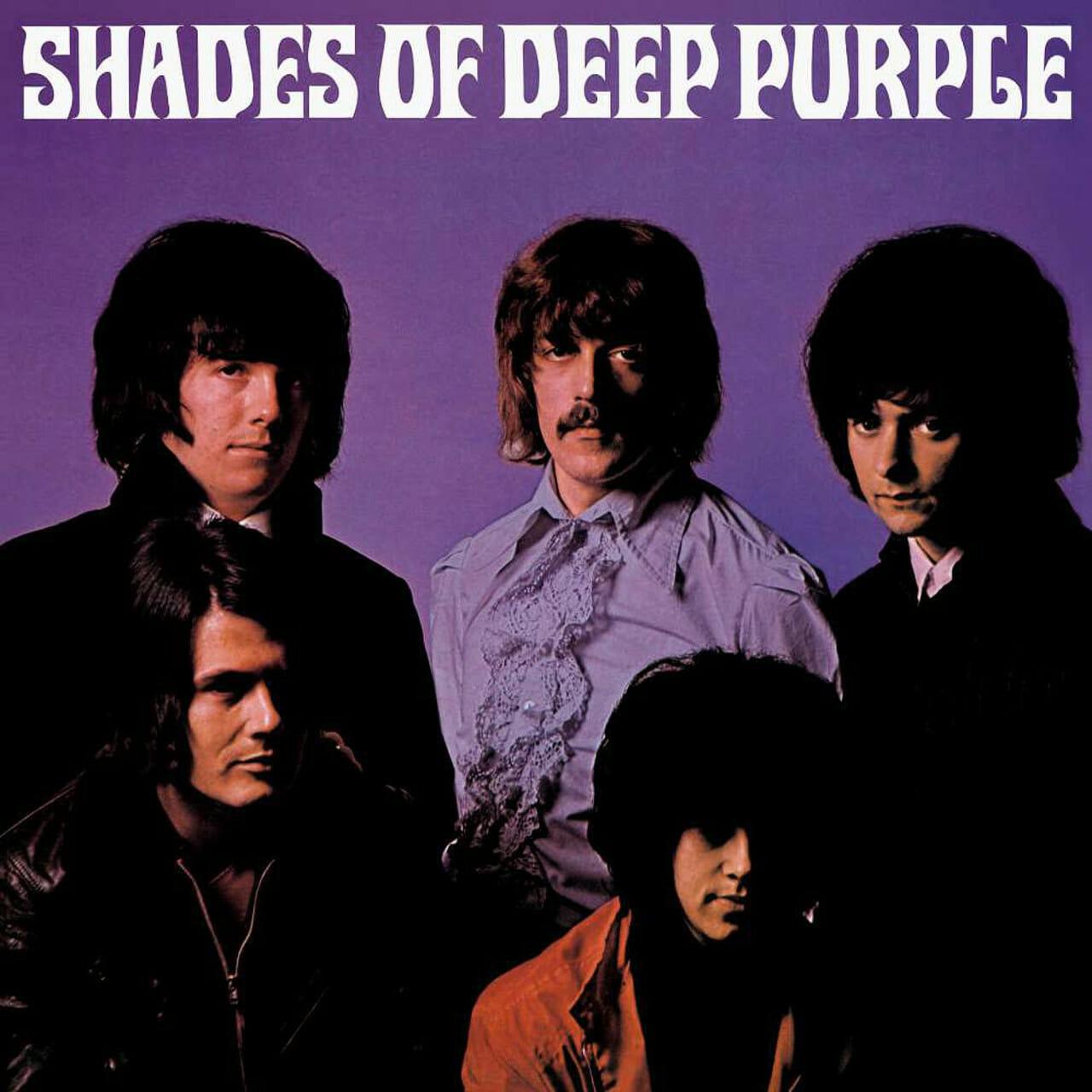 Ombres de púrpura profunda