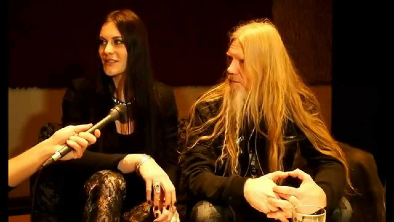 Marko Hietala and Floor Jansen