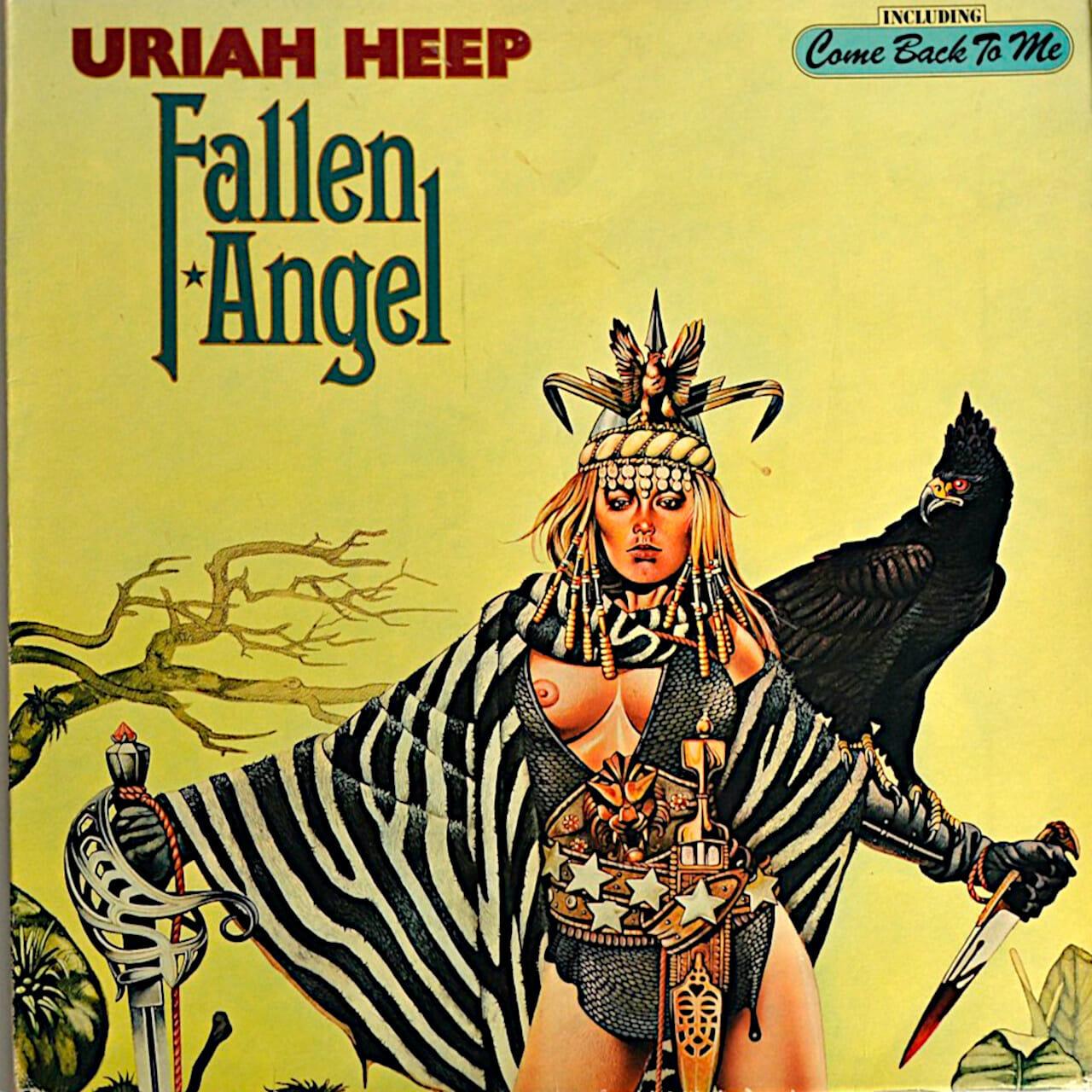 Uriah Heep ángel caído